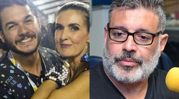 Por xenofobia, namorado de Fátima Bernardes aciona a Justiça contra Alexandre Frota