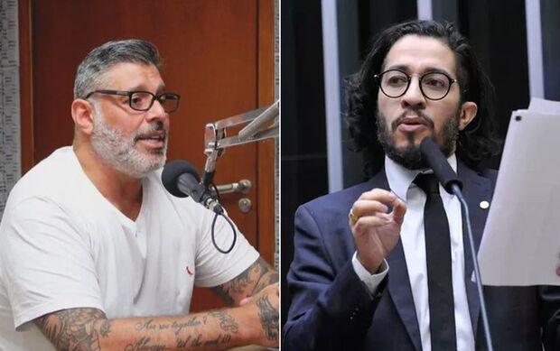 Alexandre Frota é condenado a pagar multa por atribuir fala falsa de pedofilia a Jean Wyllys nas red