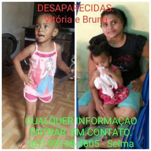 Mulher e filha de 3 anos desaparecem e familiares pedem ajuda