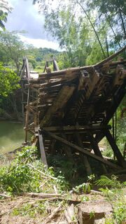 Nelsinho visita Bodoquena e tenta viabilizar recursos para arrumar ponte