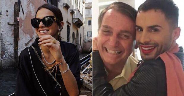 Maquiador ironiza post de Bruna Marquezine sobre Bolsonaro e sobra até para Neymar