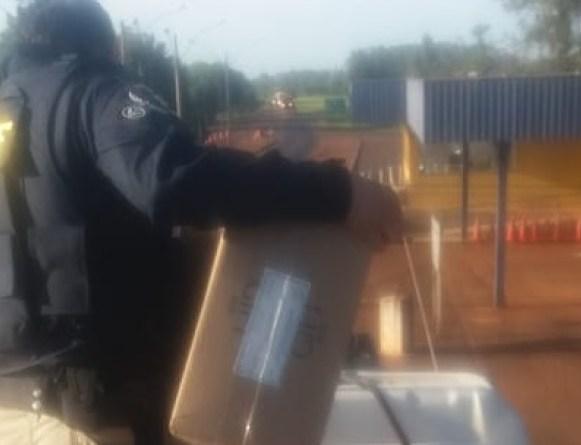 Rasteira no crime: PRF apreende quase meio milhão de maços de cigarros em Campo Grande