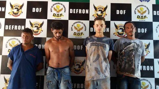 DOF identifica quadrilha responsável por sequestro; foram apreendidas também armas e munições