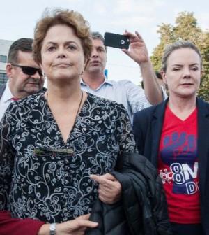 Dilma é barrada em visita a Lula na sede da Polícia Federal