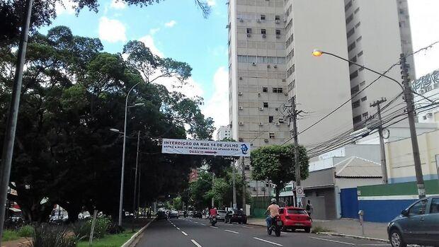 Prefeitura antecipa liberação de pista da Afonso Pena e fecha outro lado da via para obras