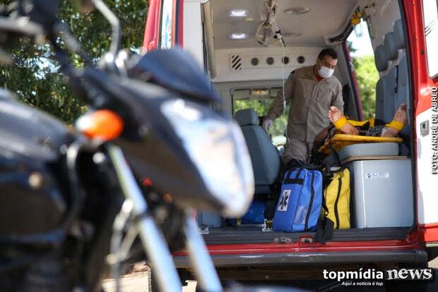 Motociclista embriagado tenta fugir da polícia, sofre parada cardíaca e morre no hospital