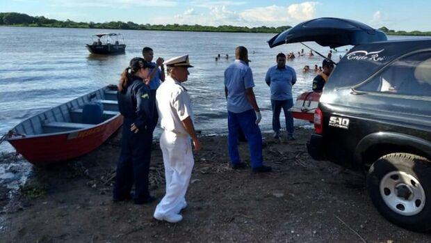 Corpo de homem que morreu afogado no rio Paraguai é levado para o IMOL