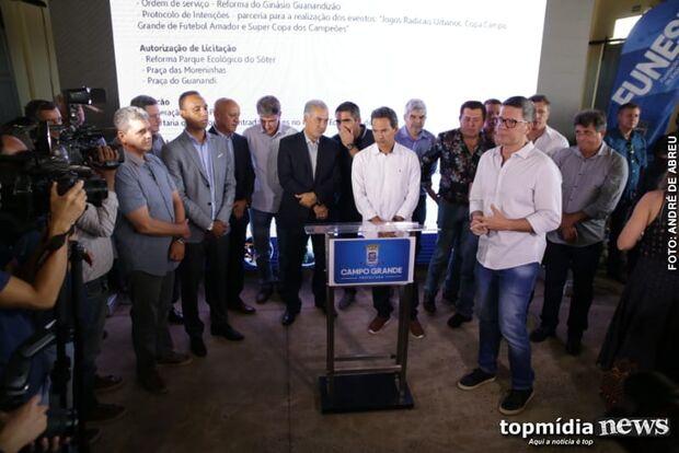 Guanandizão: após cinco anos fechado, prefeitura reforma espaço e mira jogo nacional