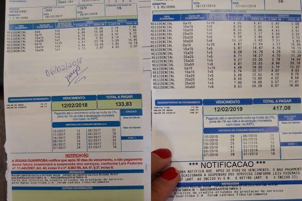 Salário não subiu nem R$ 50, mas consumidora vê preço das contas de água e energia duplicar em MS