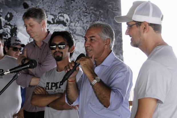 Azambuja anuncia cota zero para a pesca nos rios de Mato Grosso do Sul