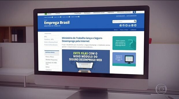 Funtrab orienta trabalhadores que Seguro-Desemprego pode ser solicitado pela internet