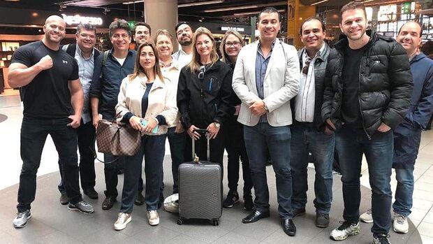 Soraya e Tio Trutis vão à China importar sistema que reconhece rosto de cidadãos