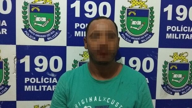 'Valentão': marido agride esposa na frente de policiais e acaba preso em MS