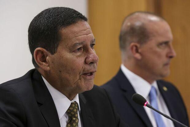 Mourão diz que reforma da Previdência segue este mês para o Congresso