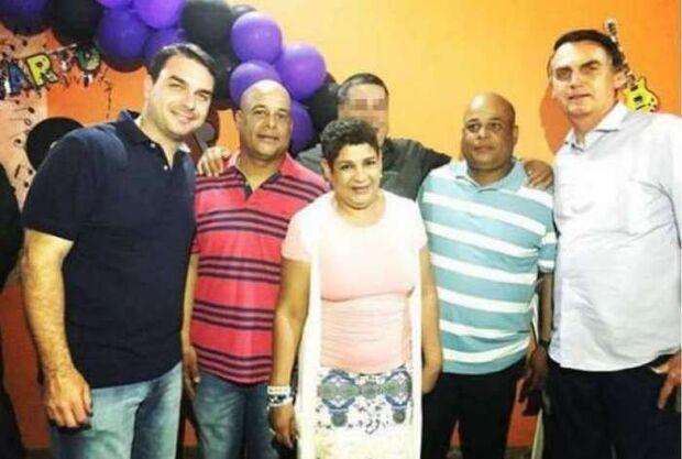 Irmã de milicianos assinava cheques em nome de Flávio Bolsonaro