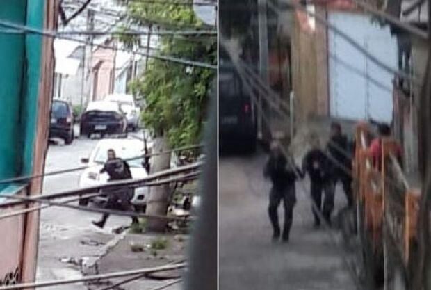 Jovem sai para comprar pão e leva 'bala' durante ação da PM