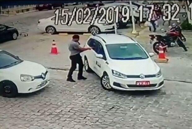 VÍDEO: câmeras de segurança flagram assassinato em briga de trânsito