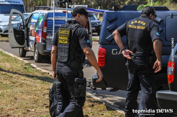 Gaeco realiza operação e cumpre 48 mandados de prisão preventiva em MS