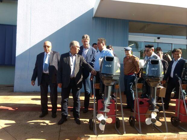 Imasul recebe veículos novos e decreto permite usar dinheiro de multas na recuperação ambiental