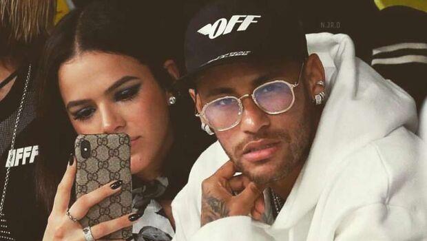 Contrato comercial obrigou Neymar e Marquezine a desarquivarem fotos