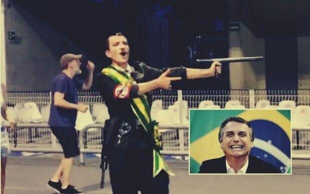 Escola de samba provoca Bolsonaro, coloca Hitler com faixa presidencial e se dá mal