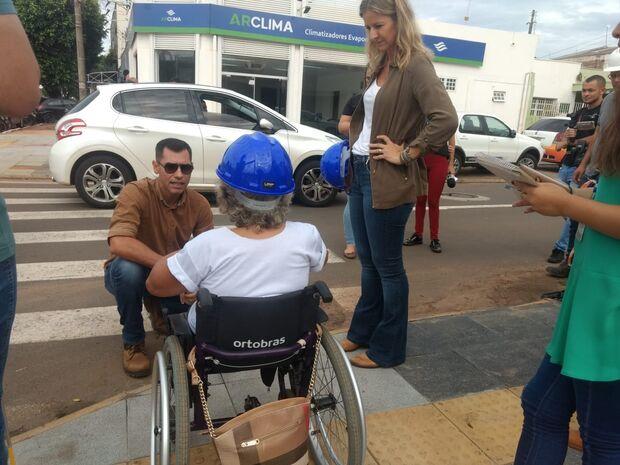 Reviva Campo Grande: associações visitam obras e apontam mudanças para garantir acessibilidade