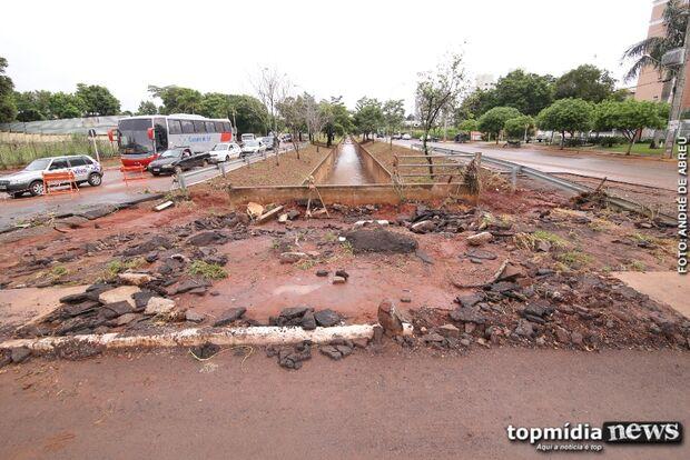 'ATLÂNTIDA': para evitar ficar debaixo d'água, Campo Grande precisa investir em bacias de contenção