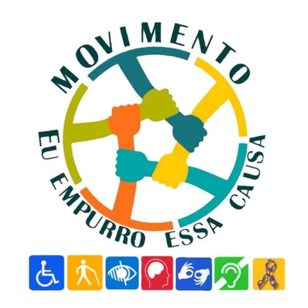 'Eu empurro essa causa': movimento realiza manifestação de apoio aos deficientes na Capital