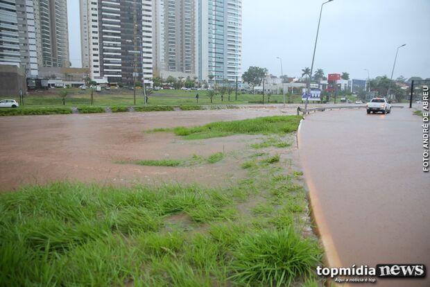 NOS NÚMEROS: Campo Grande registra maior chuva dos últimos 13 anos