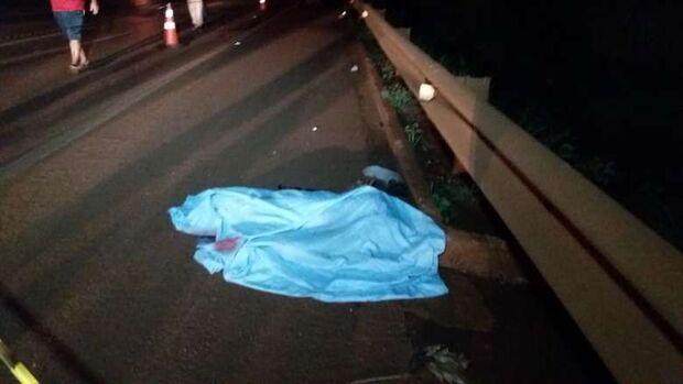 Pedreiro morre atropelado por motocicleta na BR-163