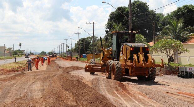 Revitalização de trecho da avenida Capitão Olinto Mancini chega a fase final