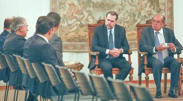 Em reunião com Reinaldo Azambuja, STF assume compromisso de buscar acordo sobre Lei Kandir