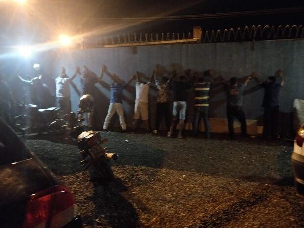 'Batidão': ação policial aborda motociclistas e casas noturnas em Campo Grande