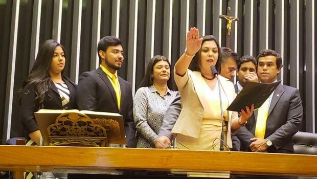 Bernal fica de fora e viúva de prefeito assume vaga na Câmara dos Deputados