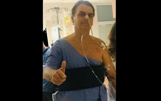 Bolsonaro tem febre e tomografia revela pneumonia, diz boletim médico