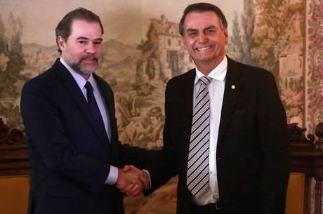 Para assessores de Bolsonaro, Toffoli 'interferiu indevidamente' no Senado