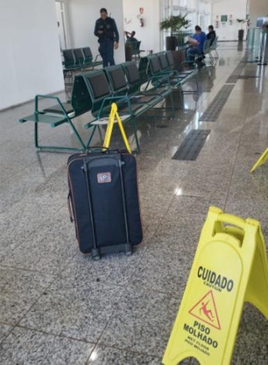 Suspeita de bomba em aeroporto mobiliza PM e intriga passageiros