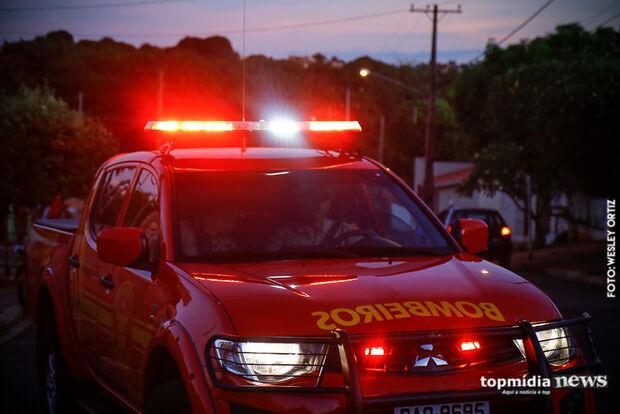 Ar-condicionado do Prontomed pega fogo e pacientes são retirados do setor na Santa Casa
