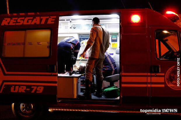 Funcionário é agredido com facão após chegar 30 minutos atrasado