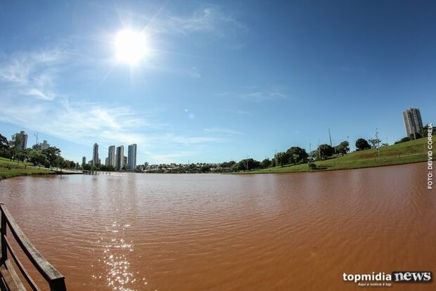 'Infernal': sábado pode ter calor de 34º C e sem previsão de chuva para Campo Grande
