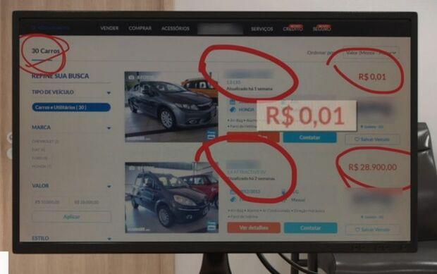 Estudante recorre para poder comprar carro anunciado a R$ 0,01, mas justiça nega pedido