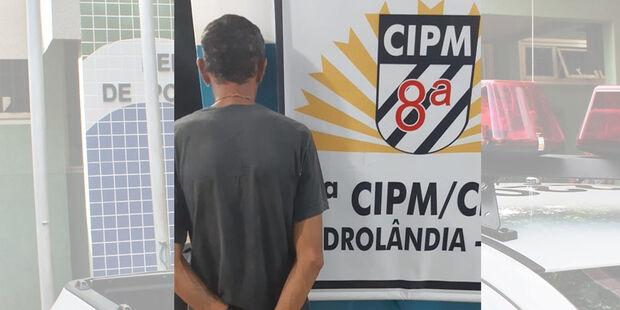 'Eu voltei, agora pra ficar': PM recaptura foragido durante rondas em cidade do MS