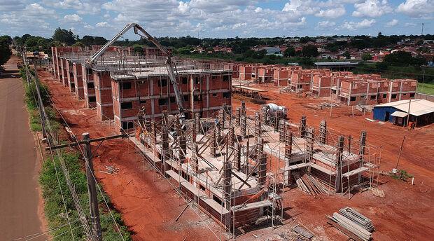 Construção de mais de mil casas segue em ritmo acelerado na Capital