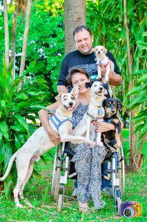 Paciente renal e com pé amputado, Cristiane precisa de material de construção para adaptar casa