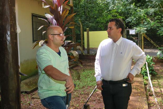 Vereador Delegado Wellington faz visita e conhece as instalações do CRAS