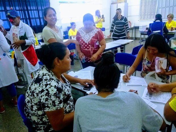 Ação do DSEI-MS leva serviços de saúde a aldeia urbana Marçal de Souza em Campo Grande