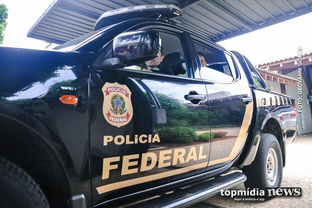 PF deflagra operação e cumpre 3 mandados em cidade de MS