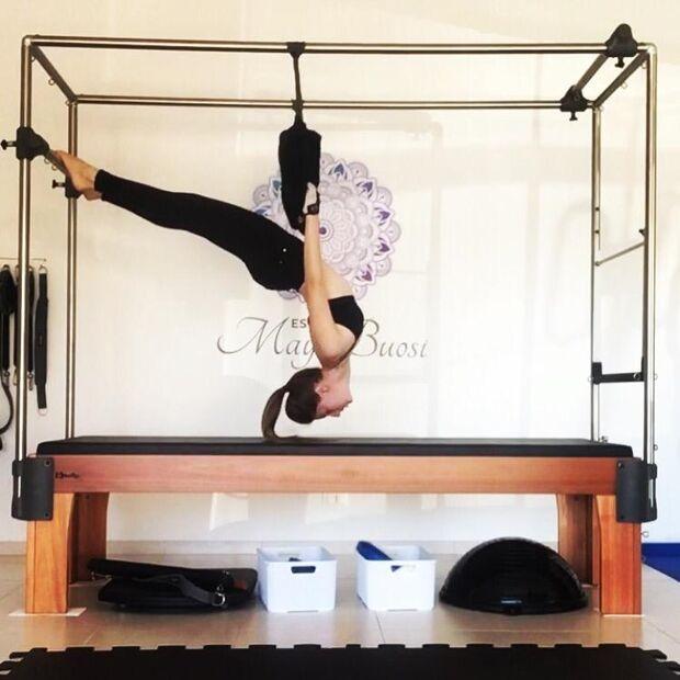 Alternativa de atividade física, pilates proporciona força e equilíbrio aos praticantes na Capital