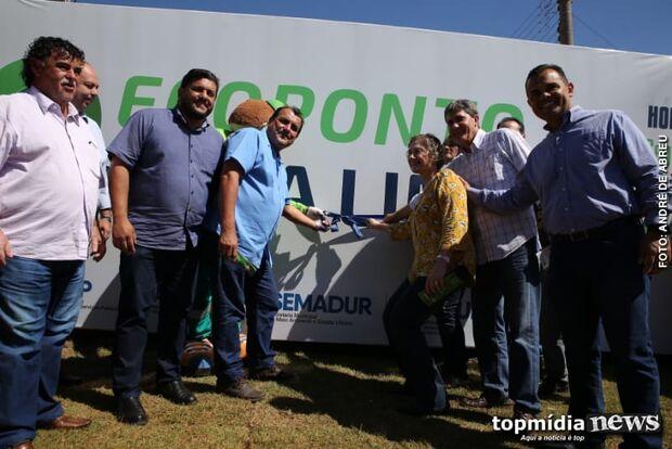 Prefeitura inaugura Ecoponto para descarte de resíduos no bairro Nova Lima