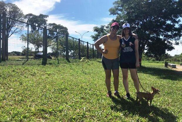 Parque do Sóter ganha novos participantes após a liberação de passeio com cães